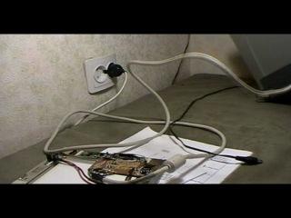 LCD от старого лэптопа подсоединить к VGA порту