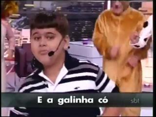 бразильская песня про животных)))