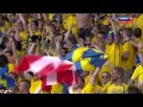 Швеция 2:1 Англия(Олоф Мельберг)