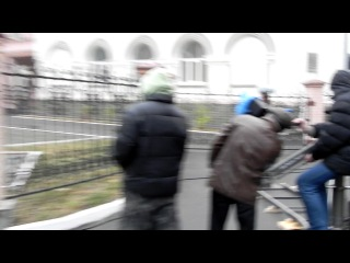 Виталина на съемках телевизионного фильма канала СТБ