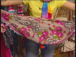 Имидж и стиль- как завязывать шарфы.