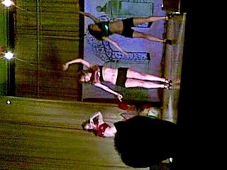 Последний звонок, выступление танца
