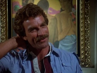 Magnum pi Thank Heavens for little girls and big ones too