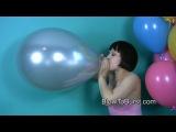 Balloon fetish (looner blow pop надувной фетиш лопать шарики лунер)