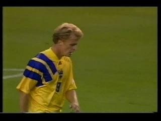 Швеция-Англия.ЧЕ по футболу 1992г.группа A