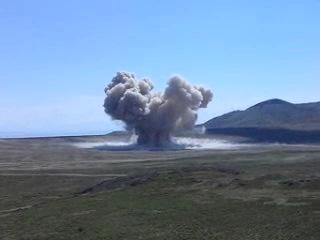 EOD, Big Explosion, 40,000 Pounds