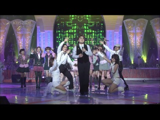 [PERF] SNSD - Girls' Generation (With Lee Seung Chul) (KBS1 Top Star/2008.02.07)