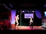 День Рождения Blacky Pole Dance shool 2012 Остап Бендер и Мадам Грицацуева