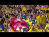 ЕВРО-2012: Швеция - Англия 2-1 (Олоф Мельберг)