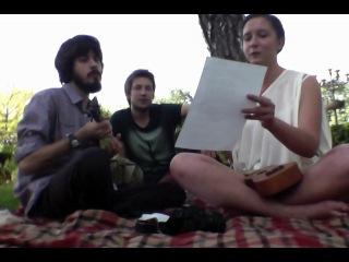 уроки игры на укулеле с Ромой в парке