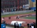Финальный забег на 200 м у девушек младше 1994 года рождения на Первенстве и чемпионате Сахалинской области 2012 года 6 мая