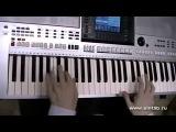 Шерлок Холмс  -музыка из фильма игра на синтезаторе