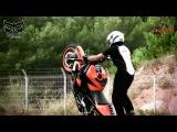 Дрифт и безумные трюки на мотоциклах в исполнении французской команды Switch Riders (HD)
