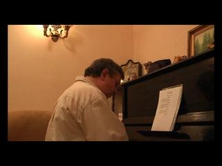 Весняк Юрий. Пьеса для фортепиано Арлекин.
