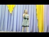 Поет дочка Катюша.(Песня о маме)