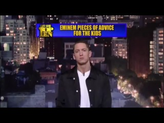 Eminem's Top 10 Pieces Of Advice For Kids (2010)