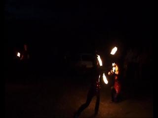 Пятый элемент, свадебное огненное шоу