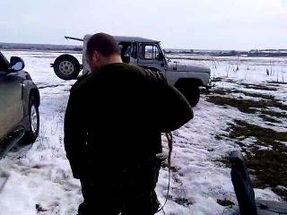 весна 2011.утро после охоты на гуся Спасский р-н Нижегородская обл. СПАСИБО, Саша!!!