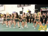 University of Oregon Cheerleader Live Pre Game Performance U of O