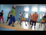 № 3  Видео Урок ХИП-ХОП  для детей  *720*  уличные танцы-- обучалка
