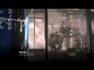 Промо сериала - Люди Альфа / Alphas (2 сезон/2012)
