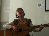Мария Коношенко поет на калмыцком языке -