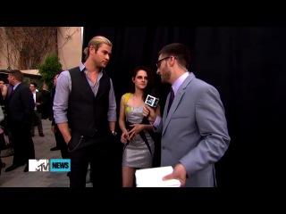 Кристен говорит о написании сценария с Робом.
