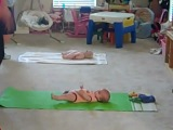 Happy Baby Workout fitness for Moms and babies with Real Hollywood Trainer, Dulcinea Lee