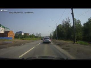 Дерзкий водитель наказал
