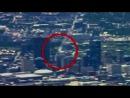 НЛО пролетает над Далласом 21.03.2012.