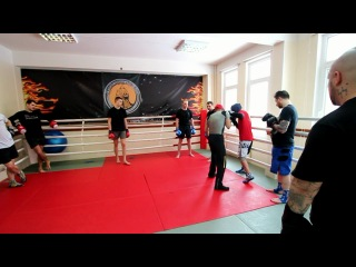 Тренировка по боксу, M-1, Марат Суюнтаев,