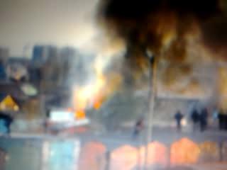 Пожар на 18 рабочай:(