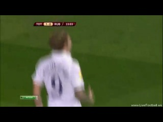 Сумасшедший гол Романа Павлюченко в ворота казанского Рубина в матче 3 тура Лиги Европы