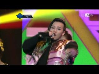 [15.03.2012] Big Bang - Blue + Bad Boy + Fantastic Baby + Aint No Fun @ M! Countdown