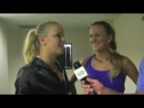 Vika Azarenka and Caroline Wozniacki Talk to TennisKidsZone's Murphy Jensen about their Friendship.