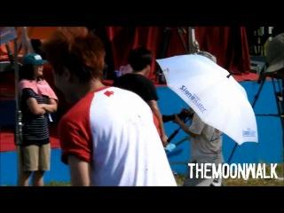 [FANCAM] 22.07.2011 BEAST practice before game @ Dream Team
