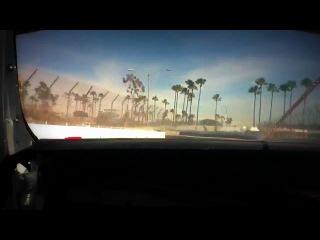 Daigo Saito Long Beach Practice On-Board 1200hp Heaven 2012 Formula D