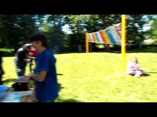 Ваня Loc Dog и свободная касса))) пикник в детском доме в пос. Каложицы