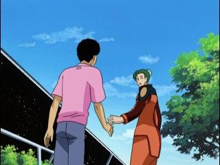 Тэнти - лишний! [ТВ-3] / Галактическая полиция / Tenchi Muyo! Galaxy Police Transporter - 4 серия
