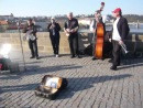 Jazz np problem - Prague, Karlov bridge