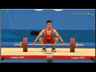Wu Jingbiao Китай рывок 133 кг на Олимпиаде 2012