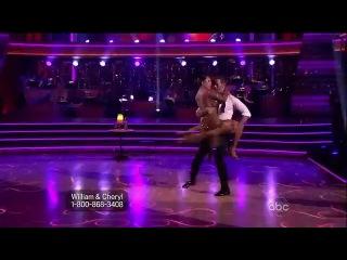 Уильям Леви и Шерил Берк - Аргентинское танго (Пятая неделя)