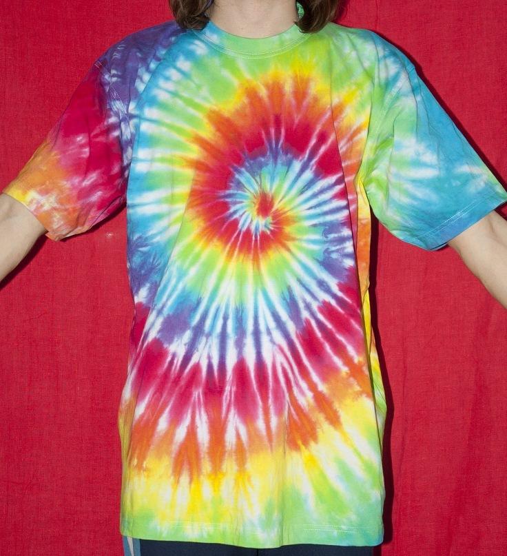 Как сделать футболку в стиле хиппи