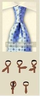 10. Схемы завязываня галстуков.  Завязываем галстук.