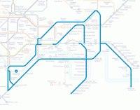 ...(Paul Middlewick) в 1988 году появилось странное хобби - высматривать в схеме лондонского метро различных животных.