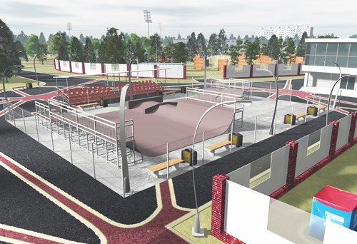Реконструкция Парка Гренада