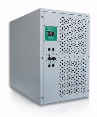 Стабилизатор напряжения электронный однофазный.  Данная модель относится к классу релейных.