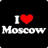 44-46.  Купить майки I love Moscow в интернет магазине маек Funmaika.