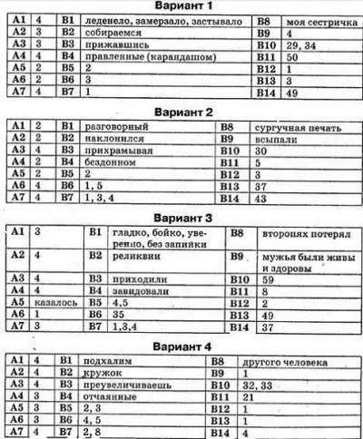 сочинения по русскому языку на разные темы для егэ