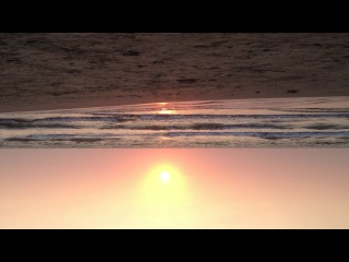 Закат на Арамболе, Зима 2013, видео снятое Машей на телефон, красота...